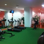Am extins sala de fitness!