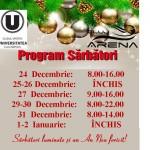 Program special Sarbatori